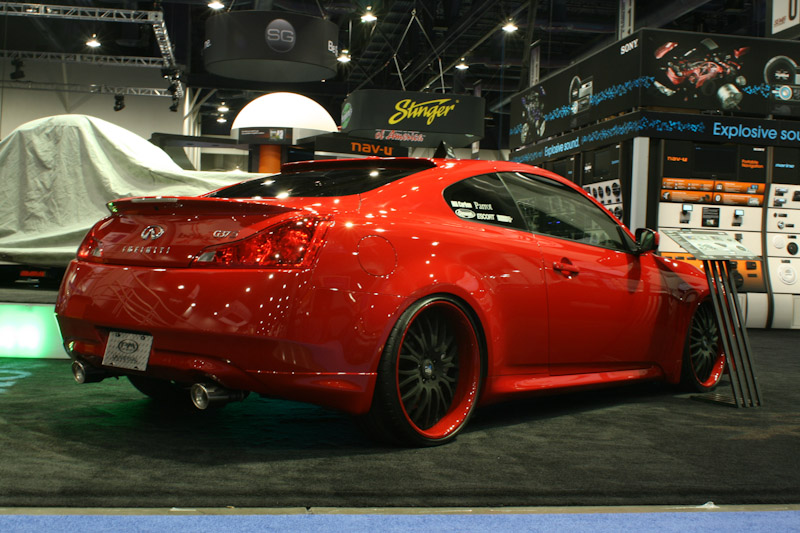 My Heavily Modded G37s At Sema 2008 New To Nor Cal Nissan Forum