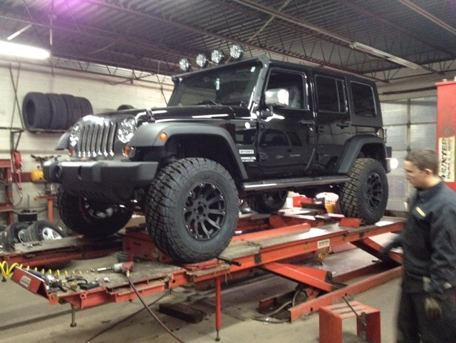 Jeep Wrangler built for Rudy Gay of the Memphis Grizzleys